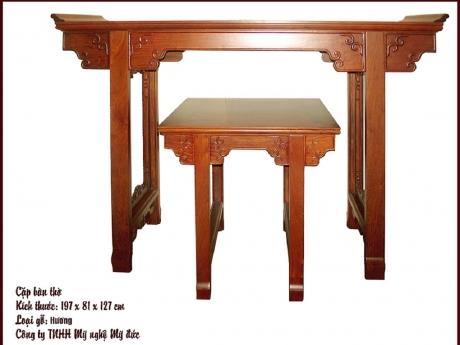 Cặp bàn thờ 197