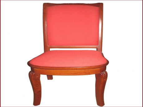 Ghế LV có đệm gỗ Hương