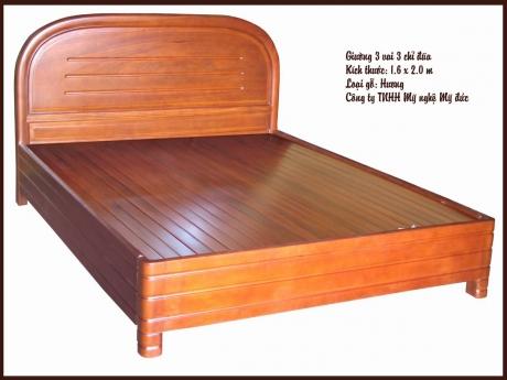 Giường ngủ 3 vai 3 chỉ đũa