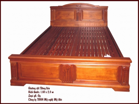 Giường ngủ cột bông lúa