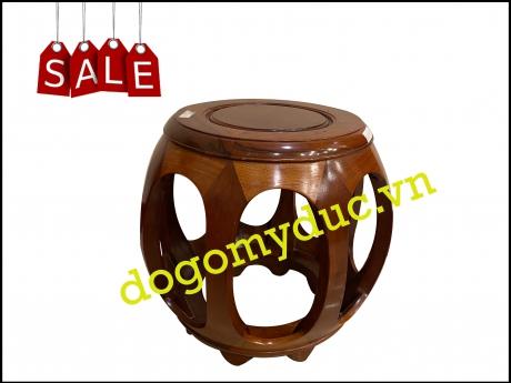 Đôn trống tròn gỗ Hương