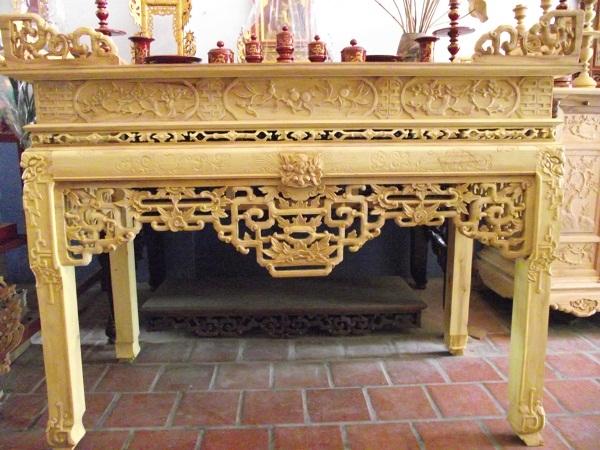 Tìm hiểu về bàn thờ gia tiên phần 2
